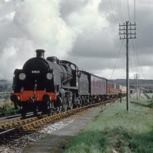Atlantic Express train at Halwill Junction 1959