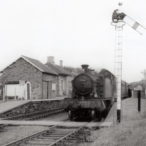 Loco at Lifton Station 1960