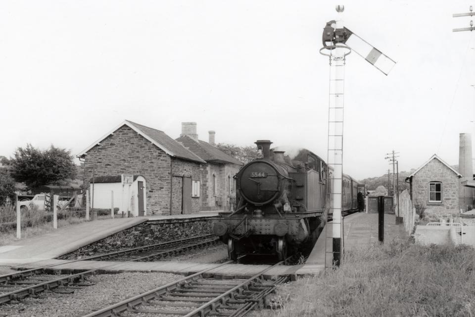 Loco at Lifton Station 1960