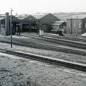 Long Rock Railway Sheds Penzance 1961