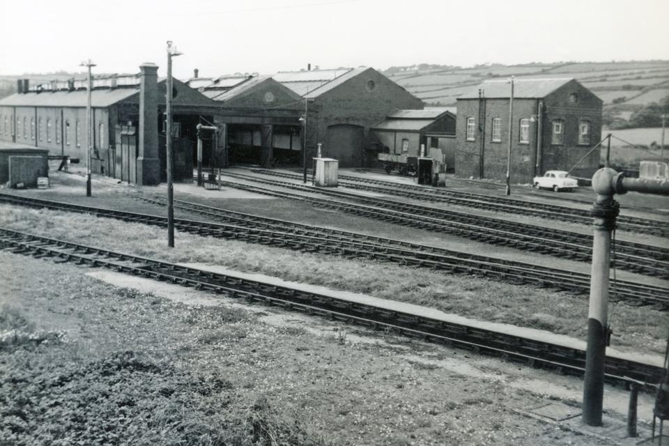 Long Rock Railway Sheds Penzance 1961