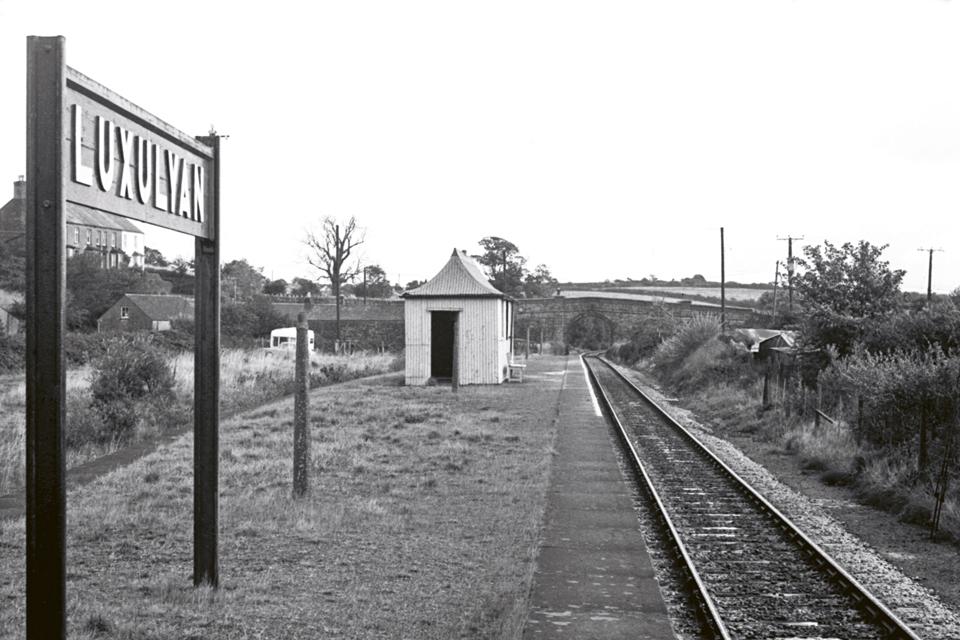 Luxulyan Halt Railway Station, St Austell 1957