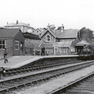 Padstow Railway Station Cornwall 1953