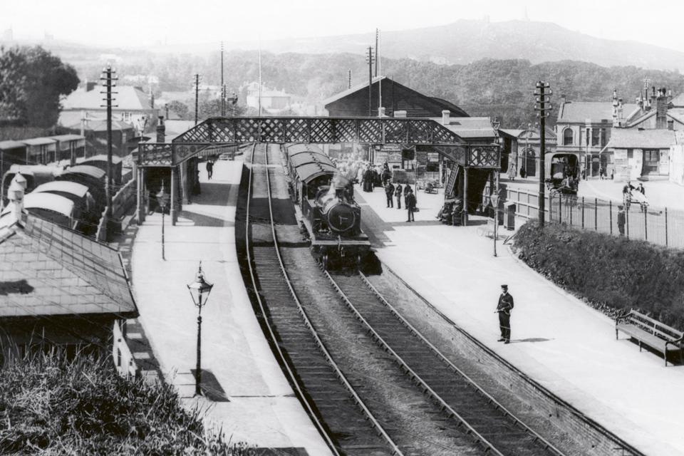 Redruth GWR Railway Station 1906